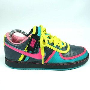 Nike 6.0 Green Pink Skate Shoes Sneakers